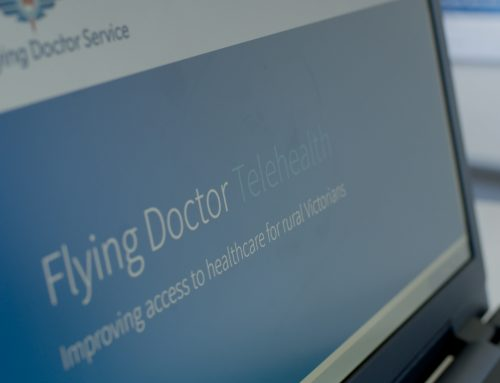 Secure file sharing on the Flying Doctor Telehealth platform
